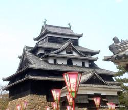 Matsue Castle in Shimane Prefecture