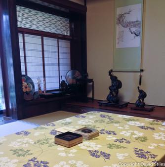Japanese Art Room