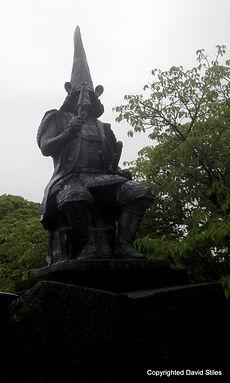 Kato Kiyomasa in Kumamoto City