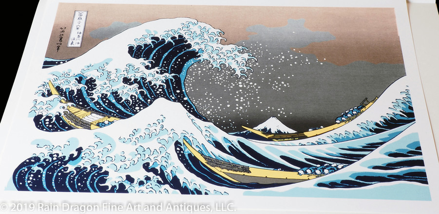 Thirty-six Views of Mount Fuji (Fugaku Sanjūrokkei) by Katsushika Hokusai