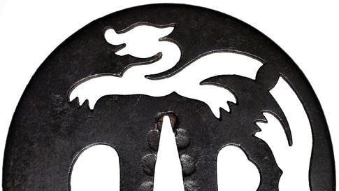 Rain Dragon Sword Handguard