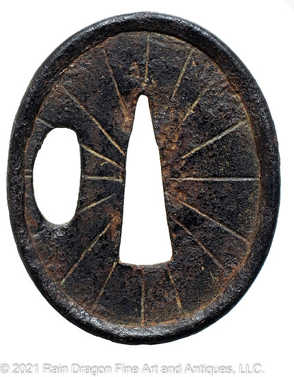 Sword Handguard (Tsuba) for Dagger