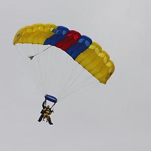 Acquired Brain Injury Ireland´s charity skydive