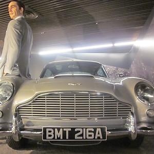 Spying on Mr. Bond
