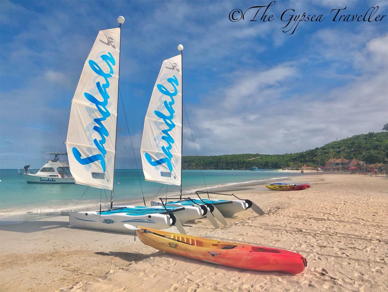 Sandals Beach Activities