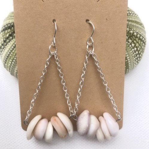Hawaiian Puka Shell Earrings