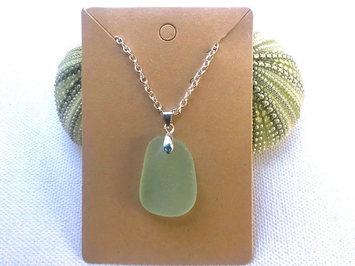 Turquoise Sea Glas Necklace