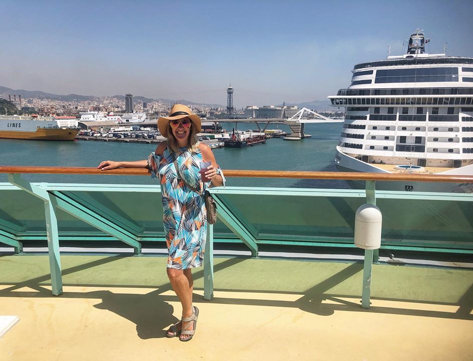 On the Radiance of the Seas in Barcelona
