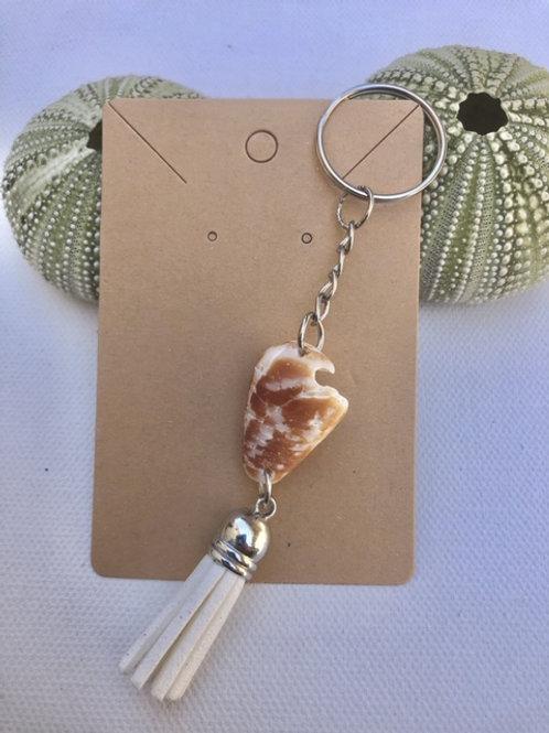 Cone Shell Key Chain
