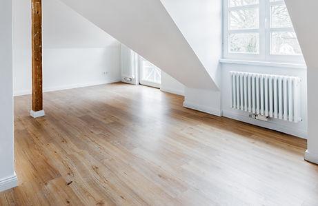 堅木張りの床