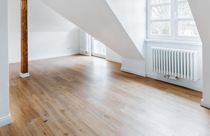 Laminate Flooring in Empty Room