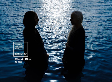 Classic Blue Pantone by Wetheloft