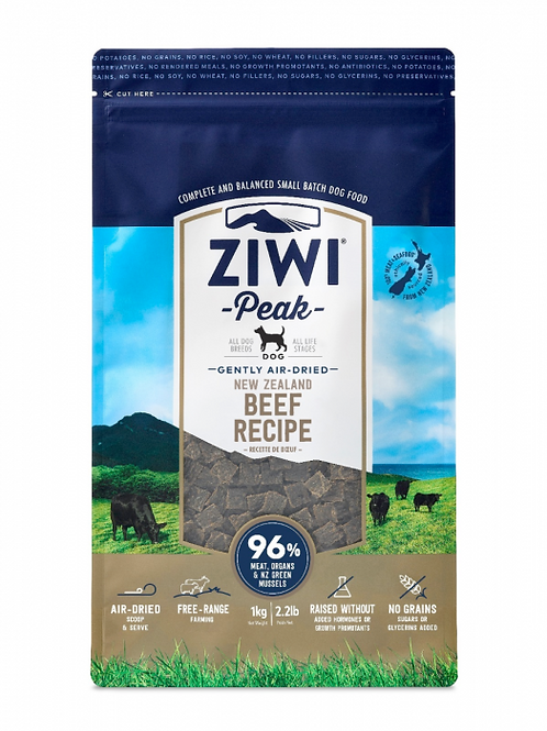 ZIWIPeak -Gently Air-Dried Grain Free- Beef Recipe