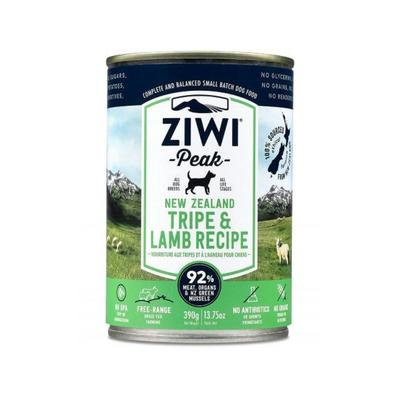 ZIWIPeak Moist Dog Food - Tripe & Lamb 390g