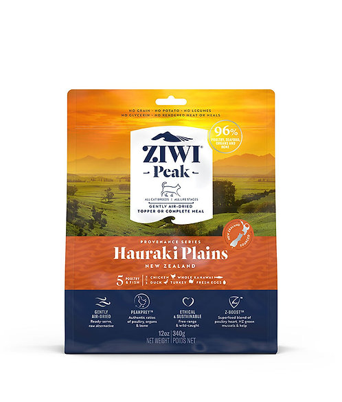 ZIWI Peak -Gently Air-Dried Grain Free- Hauraki Plains Recipe