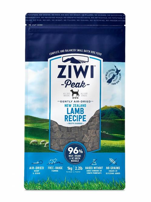 ZIWI Peak -Gently Air-Dried Grain Free- Lamb Recipe