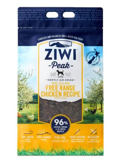 ZIWIPeak -Gently Air-Dried Grain Free- Free Range Chicken Recipe