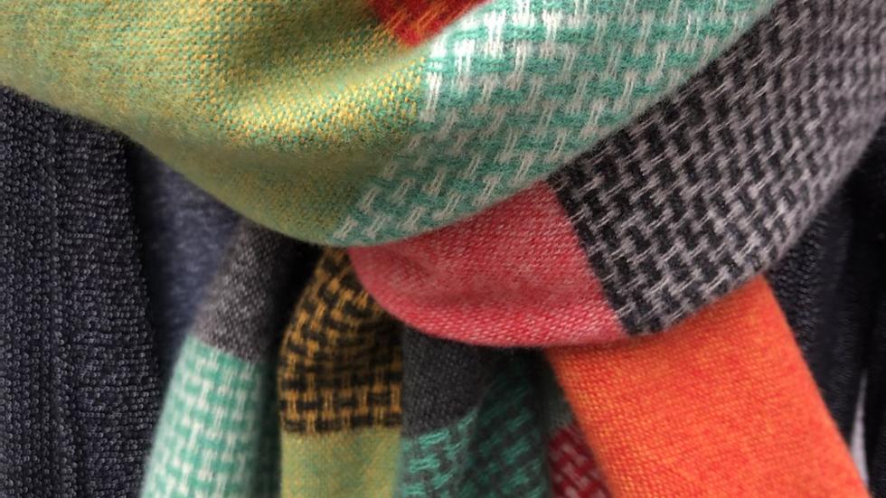 Multicolour Tartan Super Soft Scarf