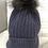 Thumbnail: Grey Pom Pom Hat