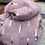 Thumbnail: Dusky Pink & Rose Gold Sticks Scarf