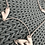 Thumbnail: Matt Silver Incorporated Hearts Long Necklace