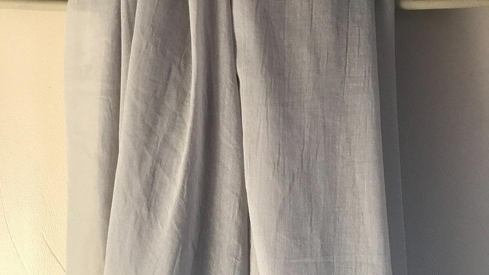 Light grey super soft scarf