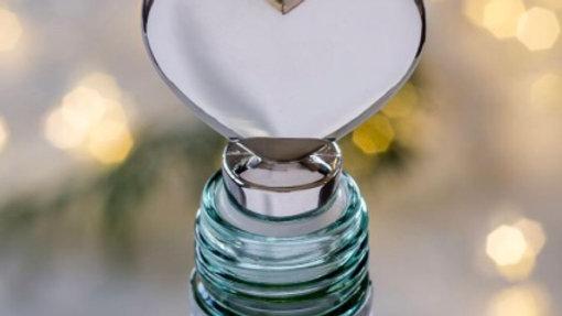 Silver Heart Bottle Stopper