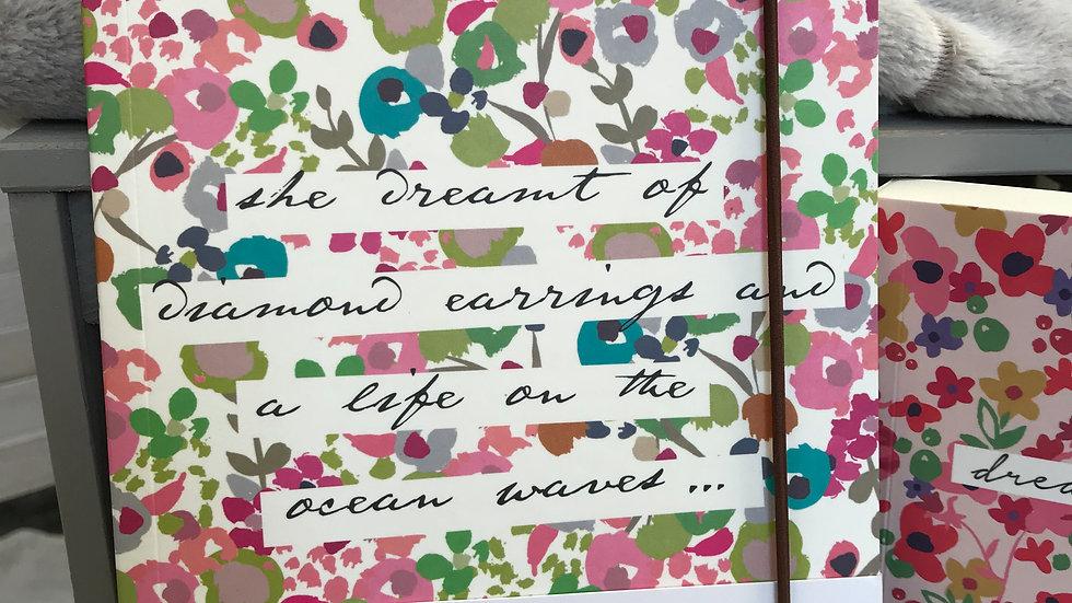 Caroline Gardner Ditsy Mid Notebook
