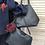 Thumbnail: Navy Tote Bag with Detachable Inner Bag