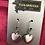 Thumbnail: Matt Silver Double Hearts Droplet Earrings
