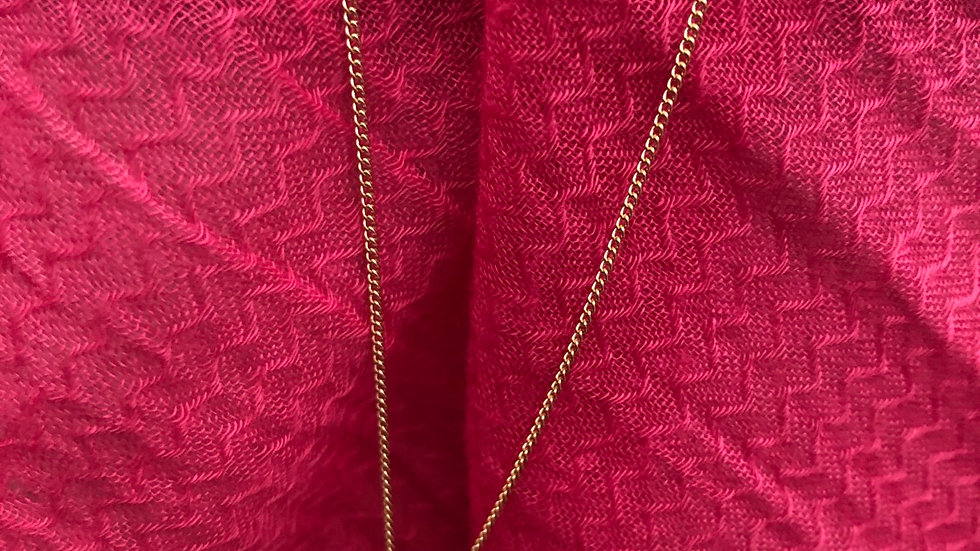 Caged Gold Pendant Necklace