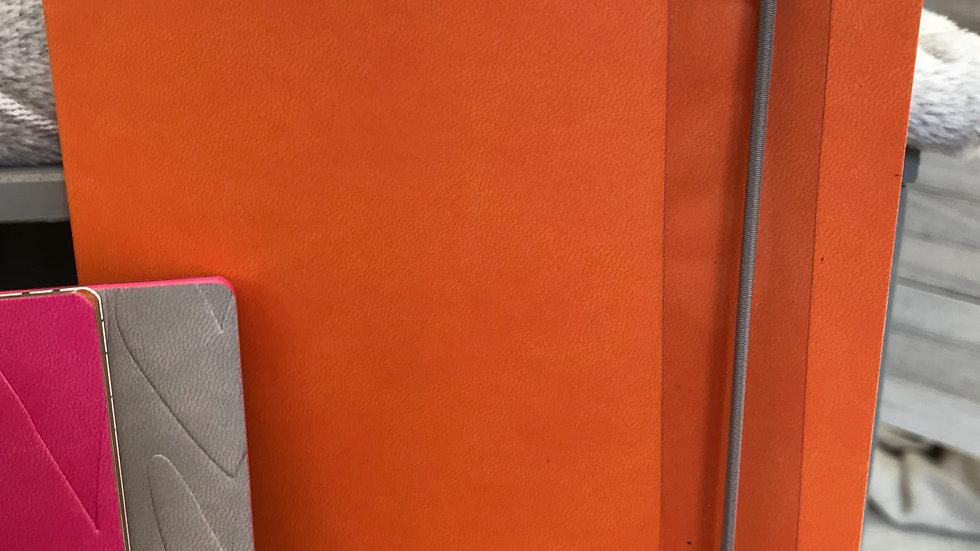 Caroline Gardner Orange Hearts Notebook