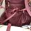 Thumbnail: Dark Red Tote Bag with Detachable Inner Bag