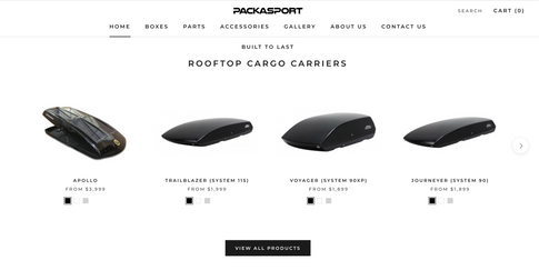 Packasport Cargo Box