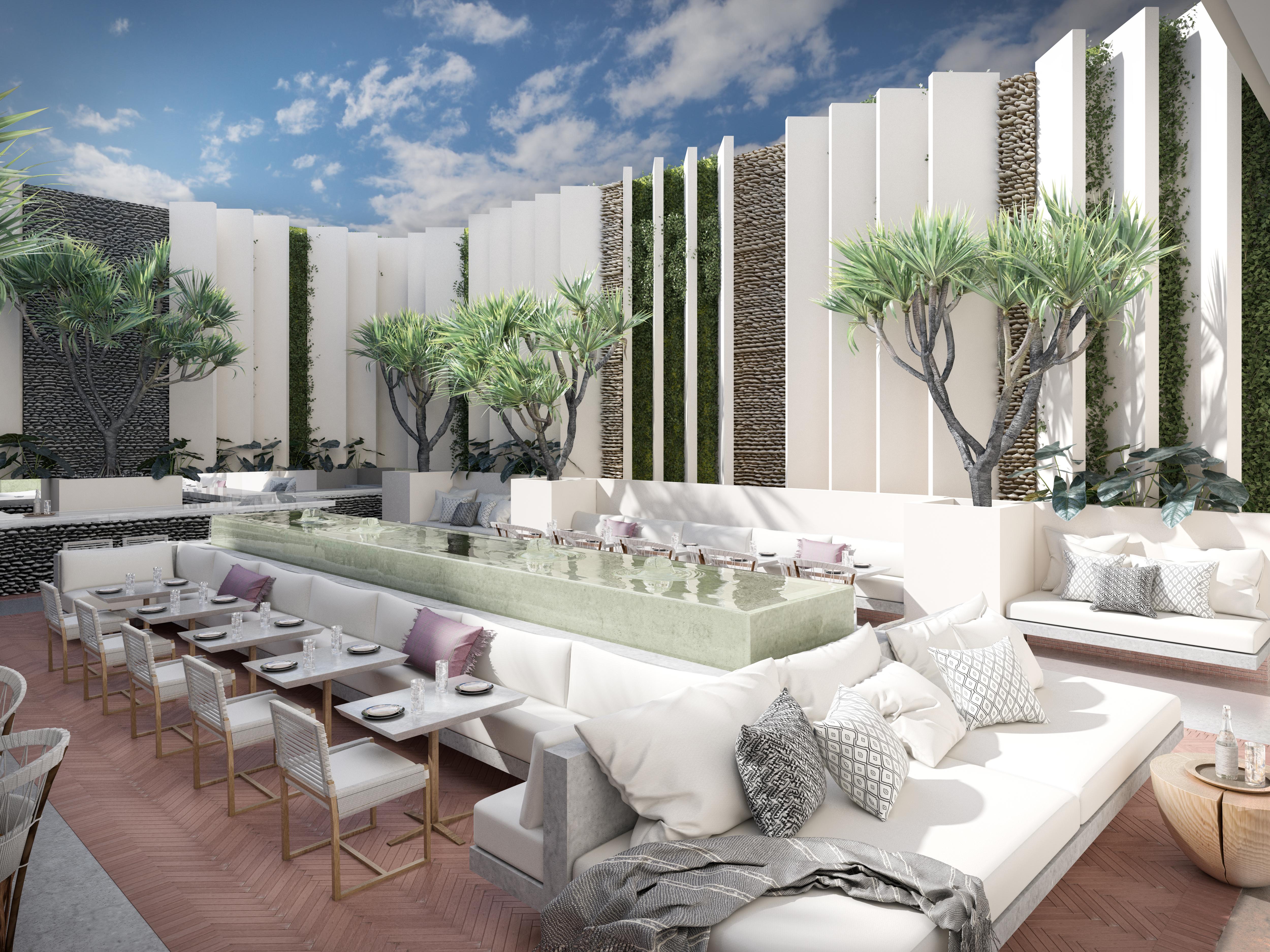 Hotel Amapa_Courtyard Render