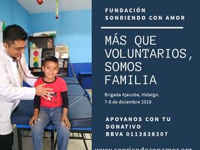 Creando sonrisas en Santiago Tezontlale, Ajacuba, Hgo ❤️