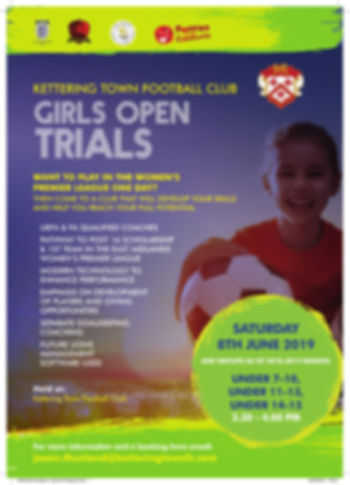 19530 Girls Academy Trials [A4 Poster]v2