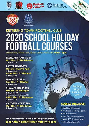 20826 2020 Soccer Camp [A4 Poster] NO CR