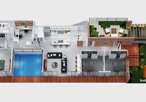 3D floor plan QLD Australia