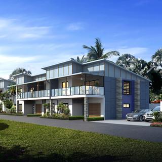3D external render for a development project - Wellington Point QLD
