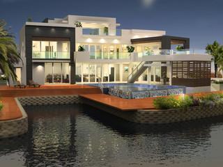 3D external Render - Cayman Islands
