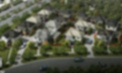 3D Rendering Melbourne birds eye view render for a 15 unit development - Springvale Victoria - 3D Rendering Vic