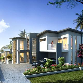 3D exrternal render for a development project - Maylands, Perth WA