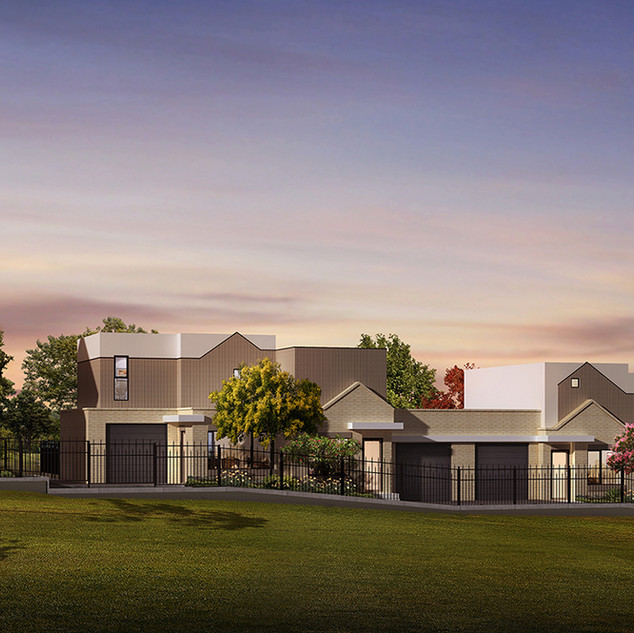 3D external Artist Impression, development project - Westmeadows, Melbourne Victoria