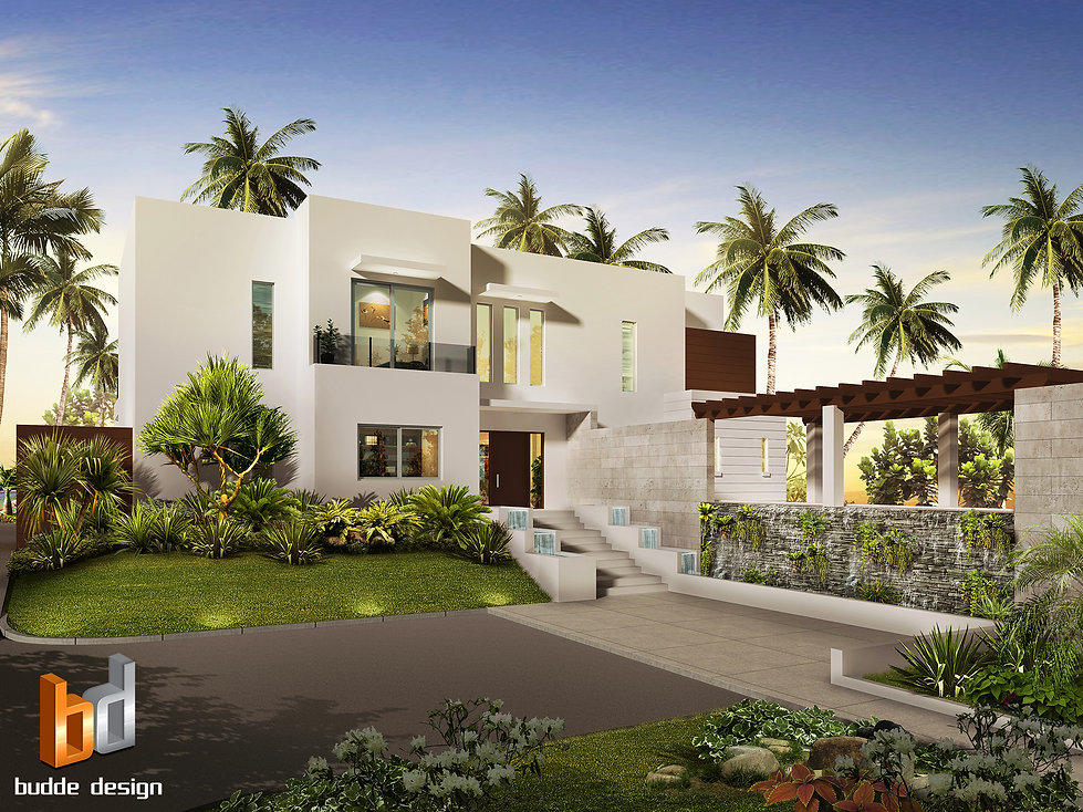 3D Artist Impression Grand Cayman Islands for another luxury home. Image used to present the design to the client and tweak any design changes required.