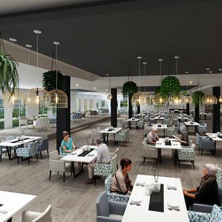 Seasons Aged Care Mango Hill, Brisbane QLD 3D render Dining Room