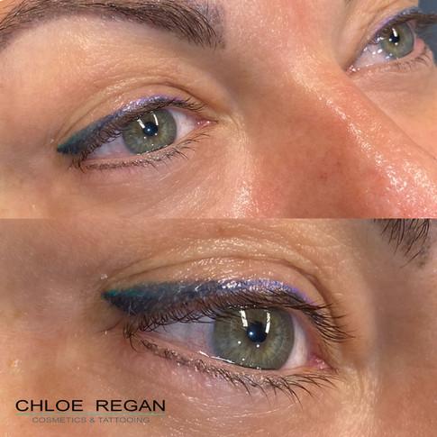 Healed coloured eyeliner