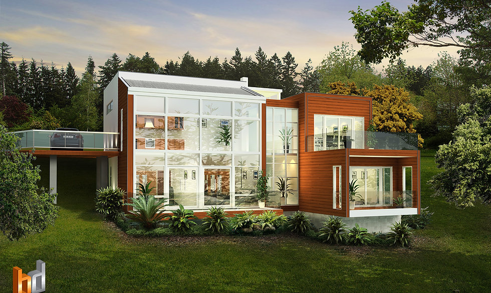 Custom Design 3D rendering New Zealand for a buildng company