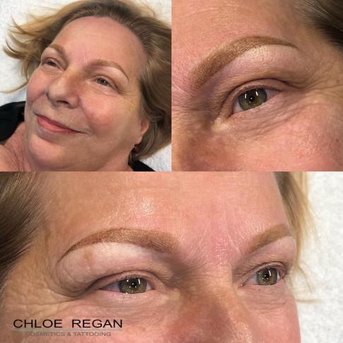 Powder Brows Eyebrow Cosmetic Tattoo