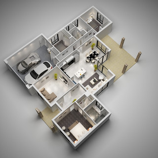 3D floor plan - Whyalla SA